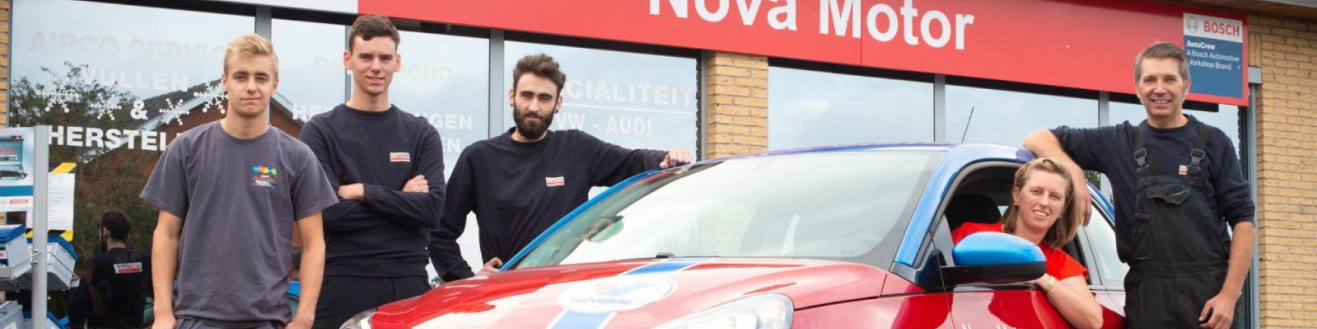 Nova Motor AutoCrew team