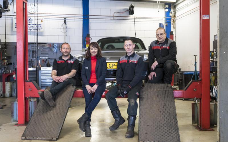 Het team van GP Cartech