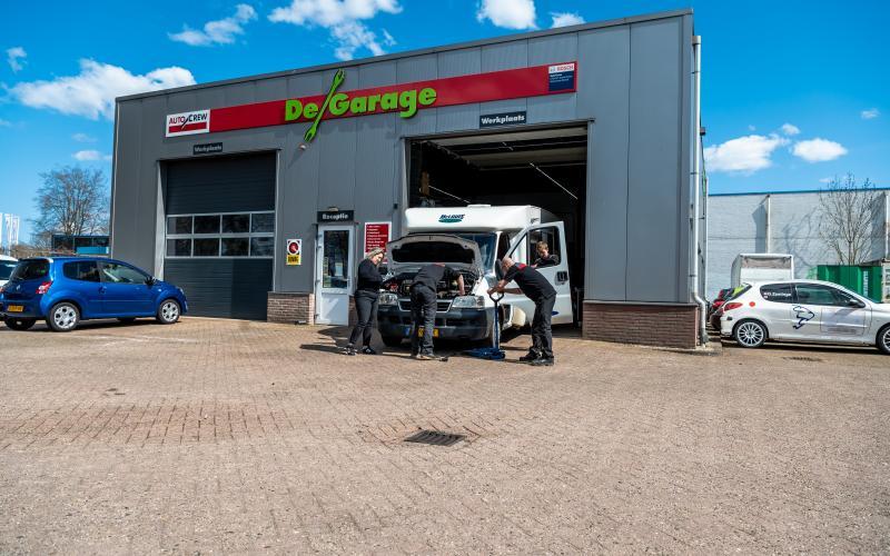 Onderhoud bij de garage in Meppel