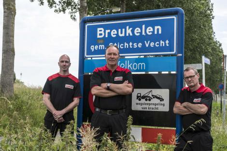 het team van Autoservice van Tricht