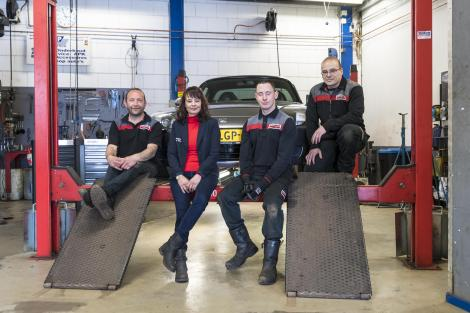 Teamfoto AutoCrew GP Cartech