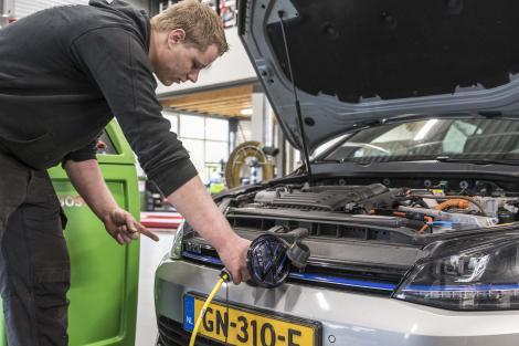 Hybride en elektrische auto's